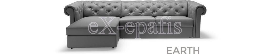 καναπές γωνιακός με κρεβάτι earth penisola noctis footer banner