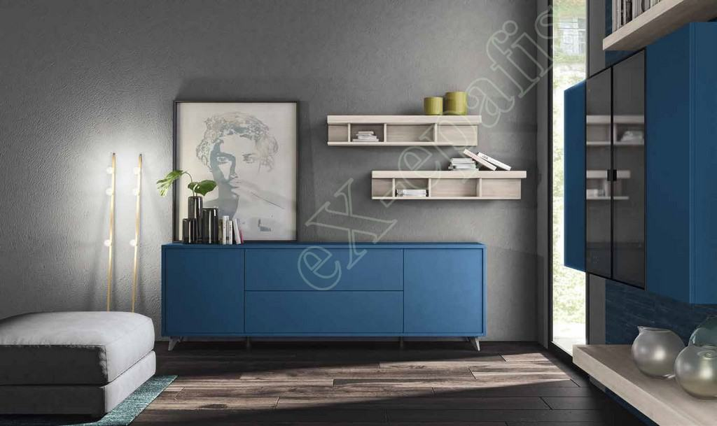 Wall Unit Living Room Colombini Golf L105