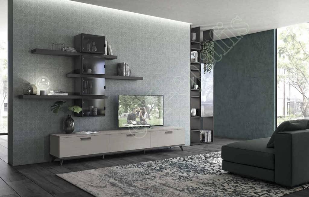 Wall Unit Living Room Colombini Golf L107