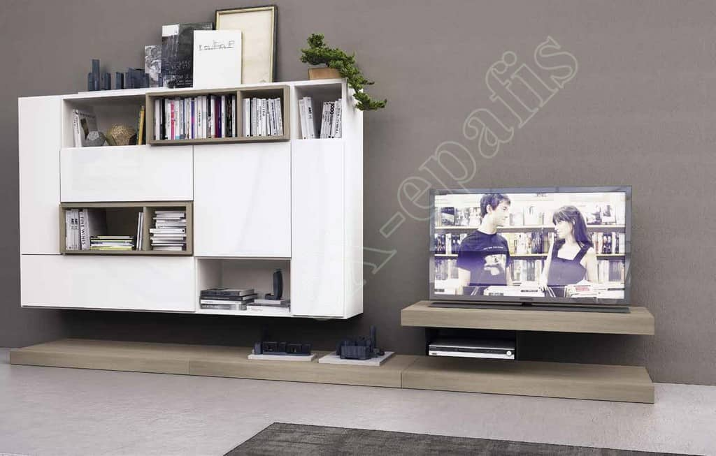 Wall Unit Living Room Colombini Golf L127