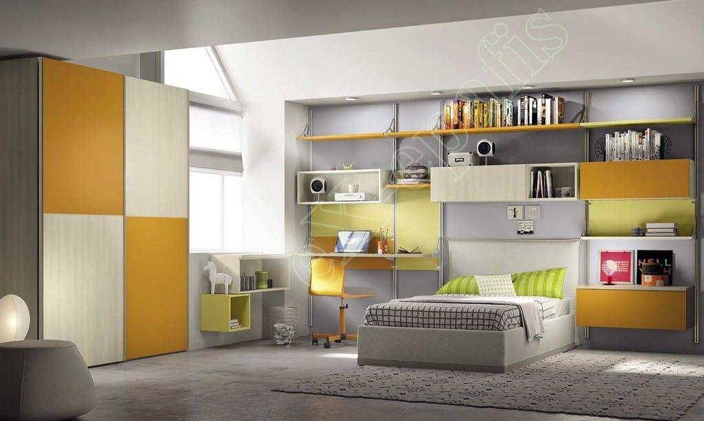Kids Bedroom Colombini Volo C02