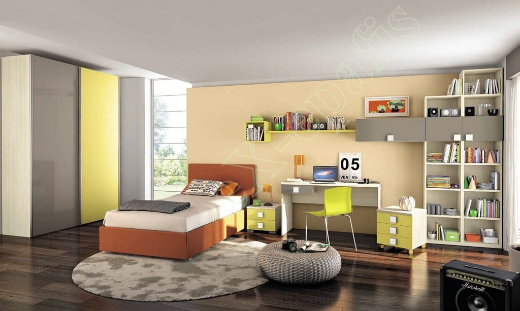 Kids Bedroom Colombini Volo C06