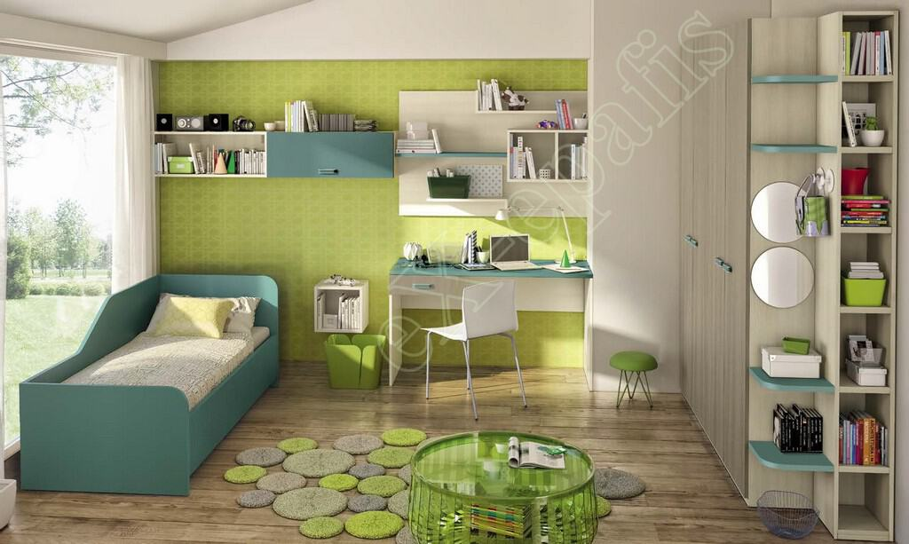 Kids Bedroom Colombini Volo C11