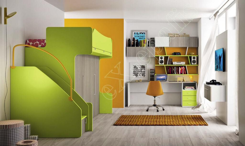 Kids Bedroom Colombini Volo C13