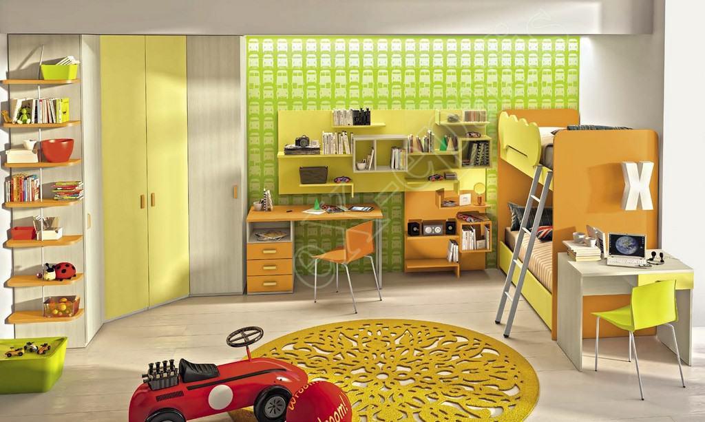 Kids Bedroom Colombini Volo C18