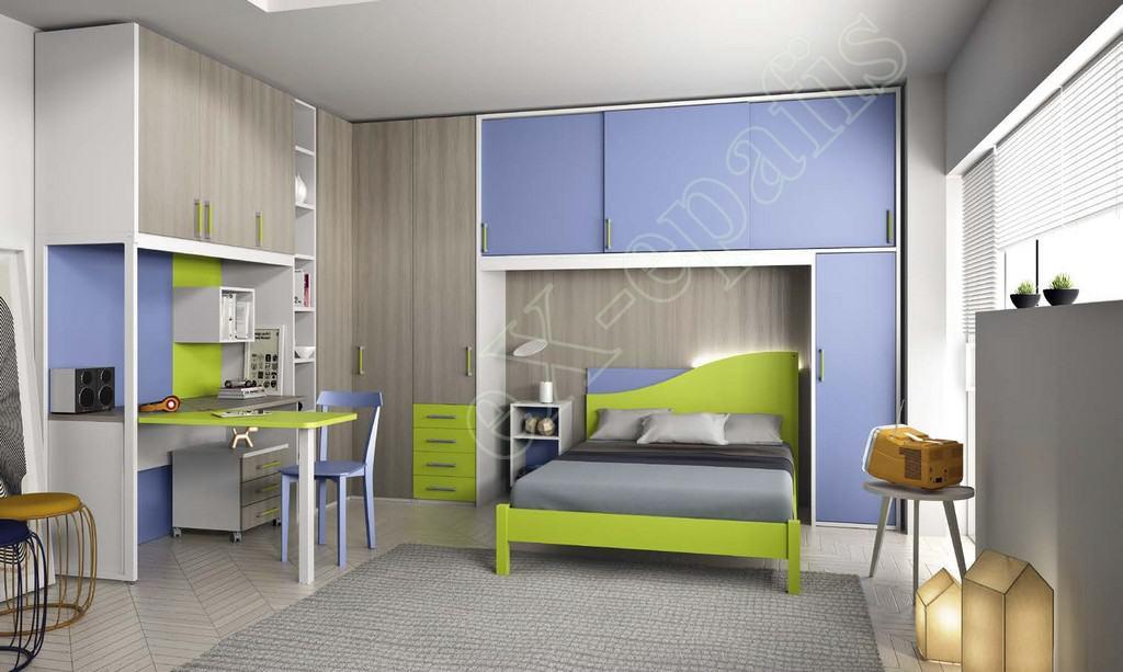 Kids Bedroom Colombini Volo C22
