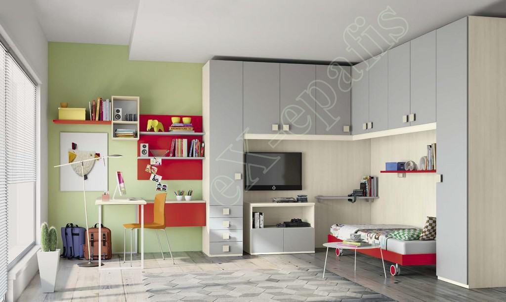 Kids Bedroom Colombini Volo C23
