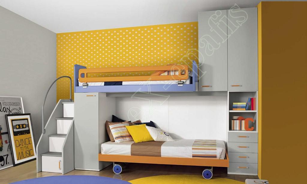 Kids Bedroom Colombini Volo C36