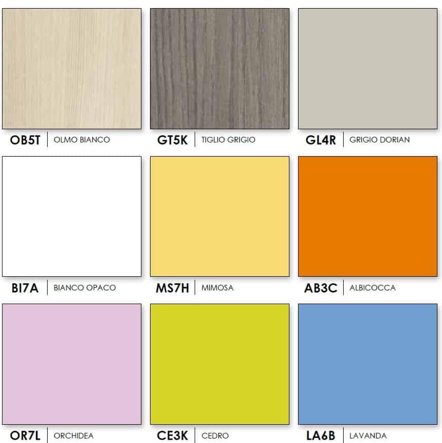 Wardrobe Target Colombini Colors 1